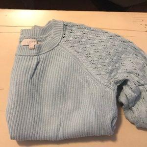 Loft Button Back Sweater - XL